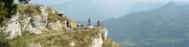 Mountain biking holidays in Slovenia with motorhome