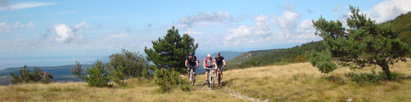 Motorhome for Mountain biking holidays in Slovenia