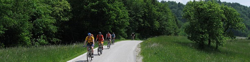 Adventure Mountain biking holidays in Slovenia